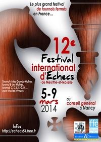 L'affiche du Festival de Meurthe et Moselle 2O14