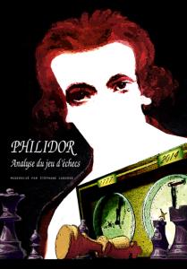 """Philidor """"Analyse du jeu d'échecs"""" édition 2014, traduction et édition Stéphane Laborde, couverture de Luc Poitier"""
