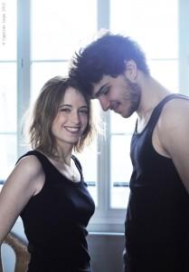 Elodie Namer et Michelangelo Passaniti