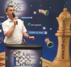 Robert Iasoni président de la ligue Ile-de-France